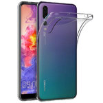 Flexi Thin Crystal Gel Case for Huawei P20 Pro - Clear / Gloss